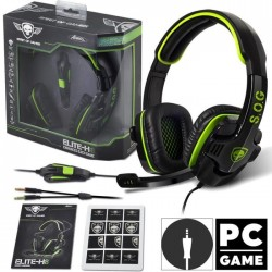 Casque Microphone S.O.G Elite-H8 Gamer
