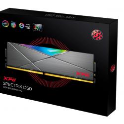 Adata DDR4 08GB 3200 MHZ CL16 XPG SPECTRIX D41 RED RGB