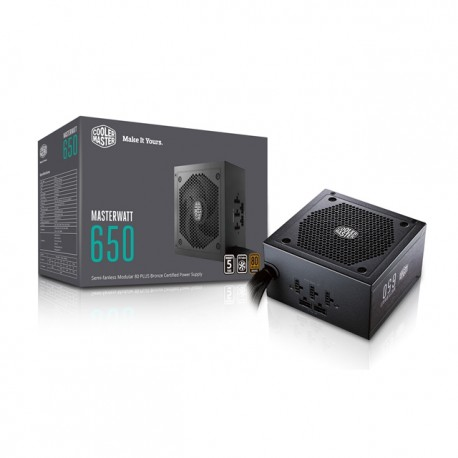 COOLERMASTER MW GOLD FULL MODULAIRE 650W